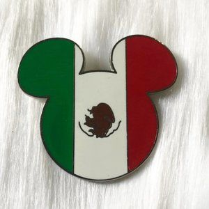 🔮 5/$25 Mickey Mouse Mexican Flag Pin